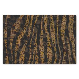 Mosaic Chic Elegant Safari Glam Jungle Party Print Tissue Paper