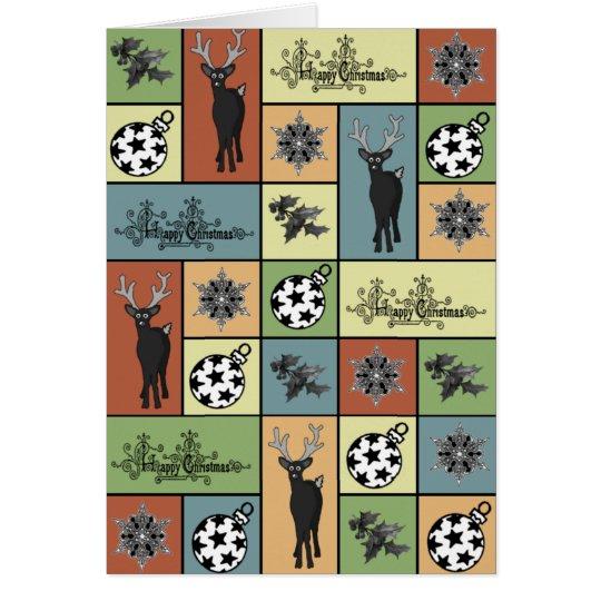Mosaic Christmas Card