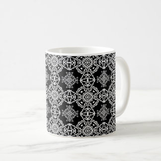 Mosaic Cross Wallpaper Coffee Mug