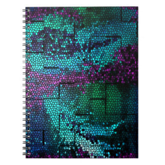 Mosaic Dragon Skin Notebook