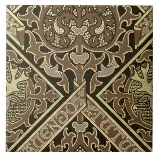 Mosaic ecclesiastical wallpaper design tile