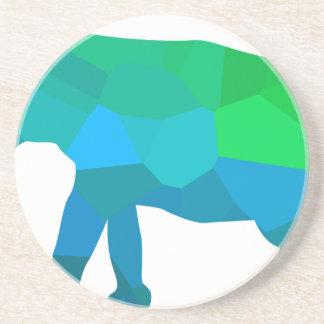 Mosaic Elephant 1 Coaster