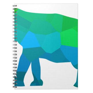 Mosaic Elephant 1 Notebook