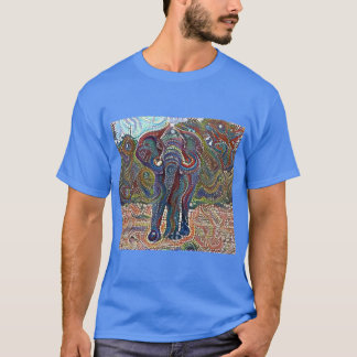 Mosaic Elephant T-Shirt