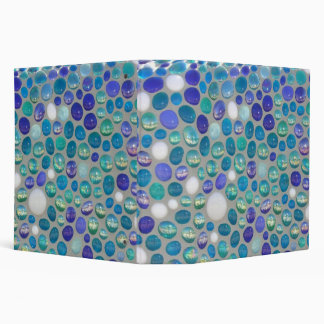 Mosaic Glass Pebbles Binder