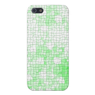 Mosaic Green i- Case For iPhone 5/5S