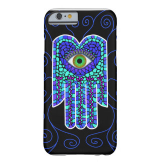 Mosaic Hamsa II on Black iPhone 6 case