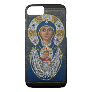 Mosaic icon from Murano island iPhone 7 Case