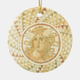 Mosaic in Athens, Greece Ceramic Ornament