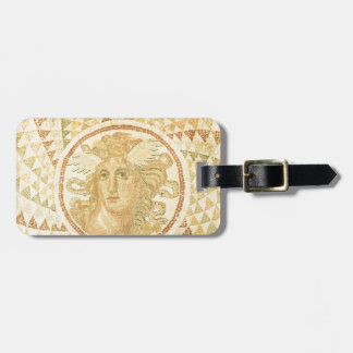 Mosaic in Athens, Greece Luggage Tag