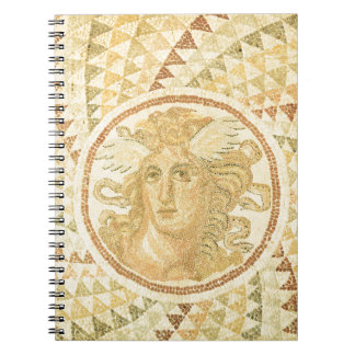 Mosaic in Athens, Greece Notebook