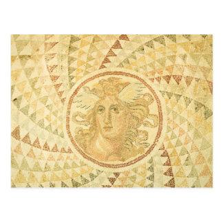 Mosaic in Athens, Greece Postcard
