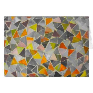 Mosaic in Colour Card