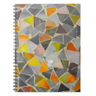 Mosaic in Colour Spiral Notebook