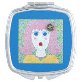 Mosaic - Ingrid Travel Mirror