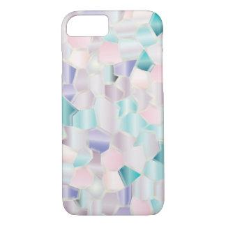 Mosaic Iridescent Pastels iPhone 7 Case