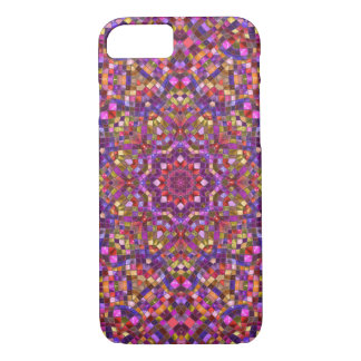 Mosaic Kaleidoscope iPhone Cases