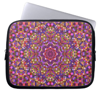 Mosaic Kaleidoscope   Neoprene Laptop Sleeves