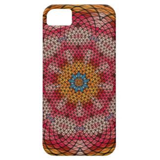 Mosaic kaleidoscope pattern iPhone 5 cover