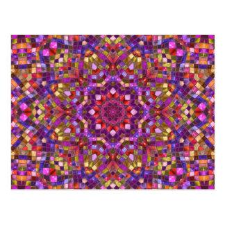 Mosaic Kaleidoscope     Postcards