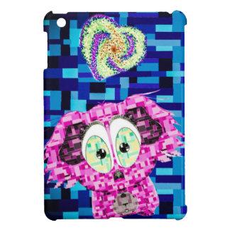 Mosaic koala and hearts iPad mini cases