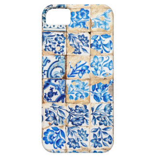mosaic lisbon blue decoration portugal old tile iPhone 5 covers