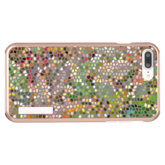 MOSAIC LOOK/PHOTOG./DIG. MANIP./MULTI-COLORED INCIPIO DualPro SHINE iPhone 8 PLUS/7 PLUS CASE