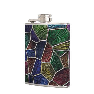 Mosaic Lora, multicolor Flasks