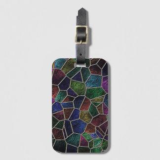 Mosaic Lora, multicolor Luggage Tag