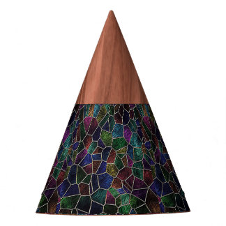 Mosaic Lora, multicolor Party Hat