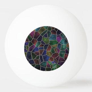 Mosaic Lora, multicolor Ping Pong Ball