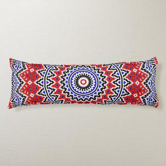 Mosaic Mandala 2 Body Pillow