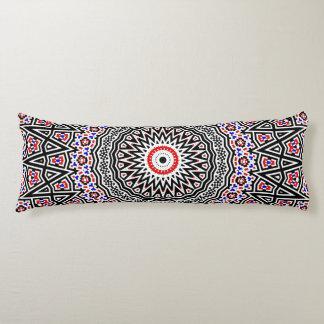 Mosaic Mandala Body Pillow