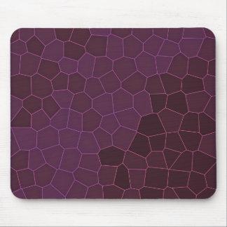 Mosaic Mauve Mouse Pad