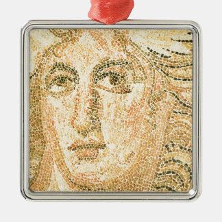 Mosaic Metal Ornament