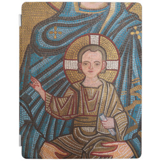 Mosaic Of Baby Jesus iPad Cover