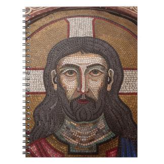 Mosaic Of Jesus Notebook