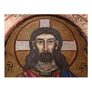Mosaic Of Jesus Postcard