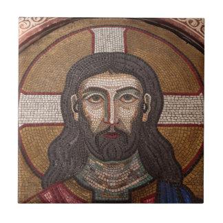 Mosaic Of Jesus Tile