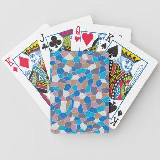 Mosaic Pattern Bicycle Playing Cards