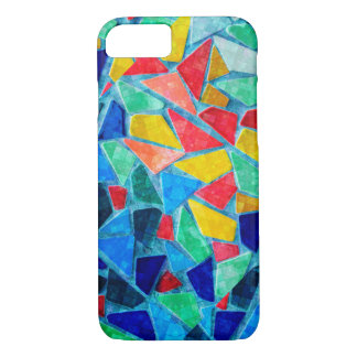 Mosaic Pattern Bright Colors iPhone 7 Case