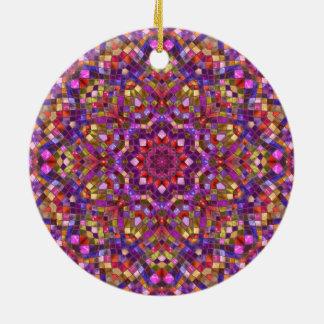 Mosaic Pattern Ornaments 6 shapes