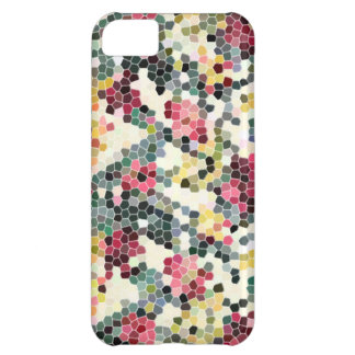 mosaic pattern pixel cover for iPhone 5C