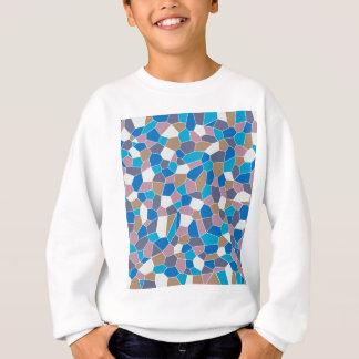 Mosaic Pattern Sweatshirt