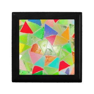 Mosaic Pattern Trinket Boxes