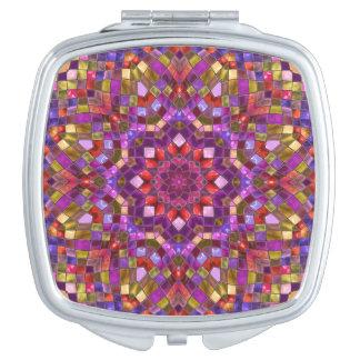 Mosaic Pattern  Vintage   Compact Mirror