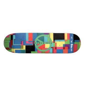 MoSaiC Peace Skateboard
