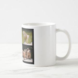 Mosaic photos of baboons coffee mug