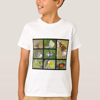 Mosaic photos of butterflies T-Shirt