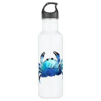 Mosaic Polygon Blue Crab 710 Ml Water Bottle